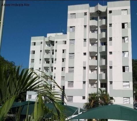 Apartamento À Venda No Bairro Demarchi - Sbc. 2 Quartos, 1 Banheiro, Lazer. - Ap01185 - 69215271