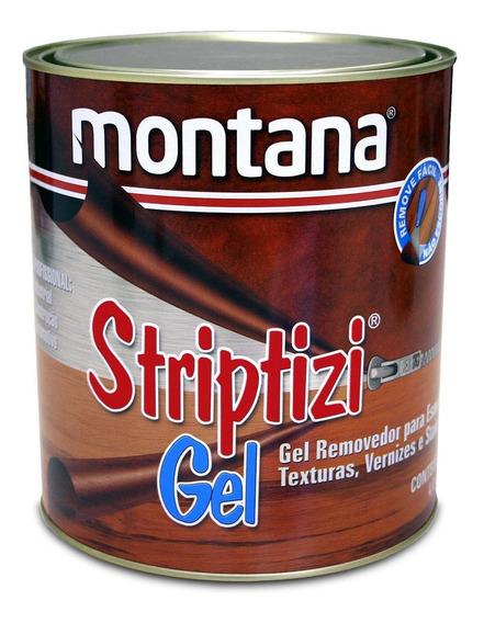 Removedor Tintas Verniz Texturas Striptizi Gel 900ml Montana