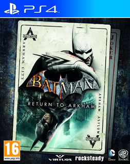 Batman Return To Arkham Ps4 Juego Digital - Cuenta Principal