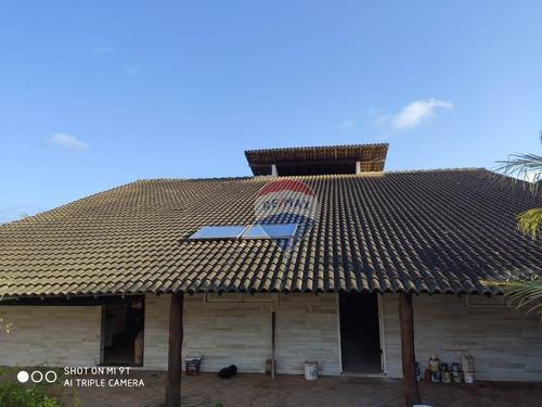 Casa À Beira Do Rio Com 4 Suítes À Venda, 500 M² - Barra De Cunhaú - Canguaretama/rn - Ca0178