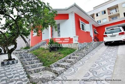 Casa Com 03 Dormitórios (02 Suítes) Em Terreno De 360m² Em Serraria - 3783