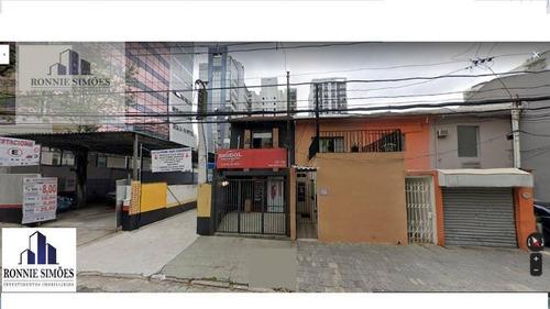 Imagem 1 de 1 de Terreno | Área Em Moema | Zn (zona Mista)à Venda, 840 M² , 2 Frentes, Próximo Av. Ibirapuera - Te0044