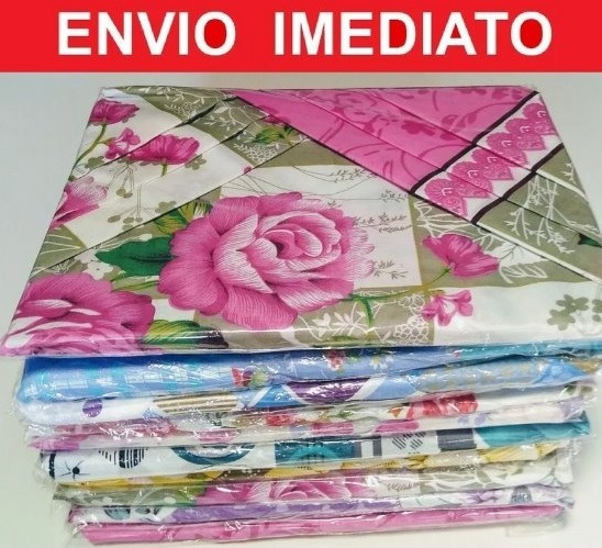 Kit 5 Lençóis Casal + 10 Fronhas Promoção Barato Lençol