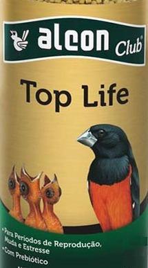 Ração Alimento Pássaro Alcon Club Top Life Saco 10kg