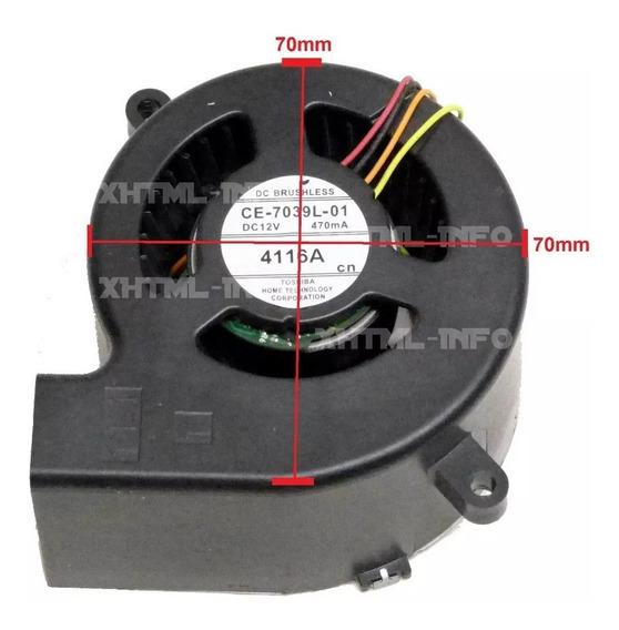 Cooler Do Bloco Optico P/ Projetor Epson S18+ Ce-7039l-01
