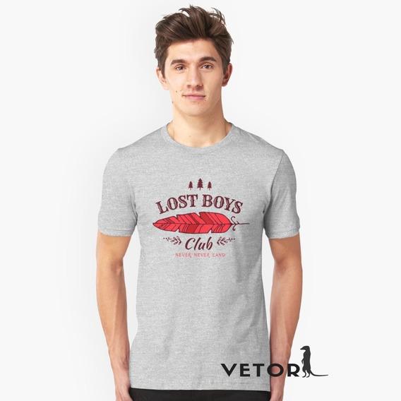 Camisa Camiseta Algodão Premium Lost Boys Club Peter Pan