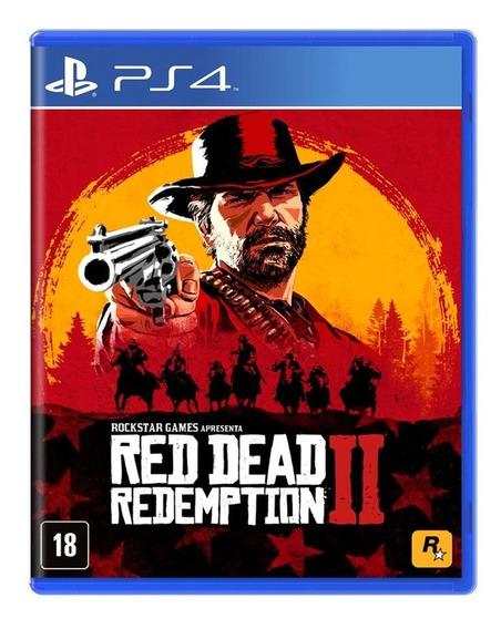 Red Dead Redemption 2 Ps4 Mídia Física Novo Lacrado