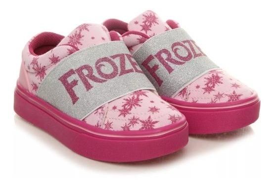 Tênis Frozen Grendene Novo Na Caixa Meninas Tamanho 23 Ao 25
