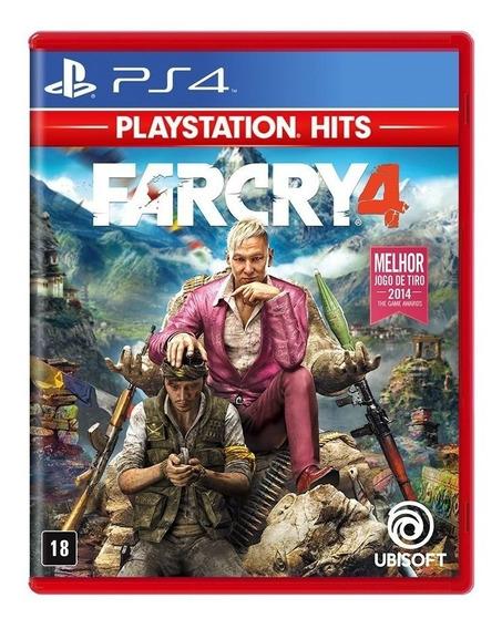 Jogo Far Cry 4 (novo) Ps4