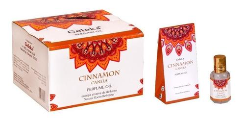 Óleo Perfumado Indiano Goloka Cx.12un.10ml - Aromas Mistos