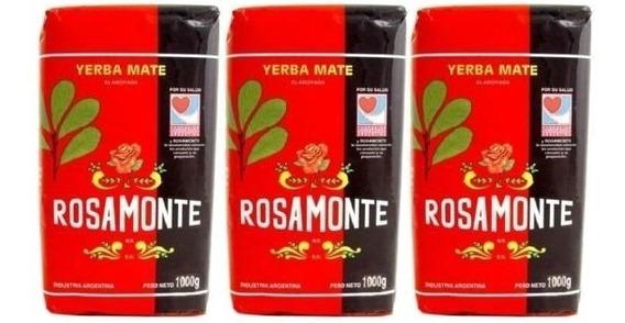 Yerba Mate Rosamonte 3 Kilos Envio Gratis.