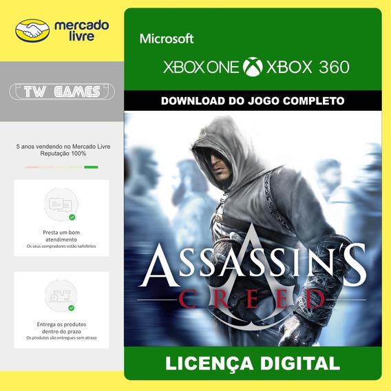 Assassins Creed 1 Digital Retrocompativel Xbox One Xbox 360