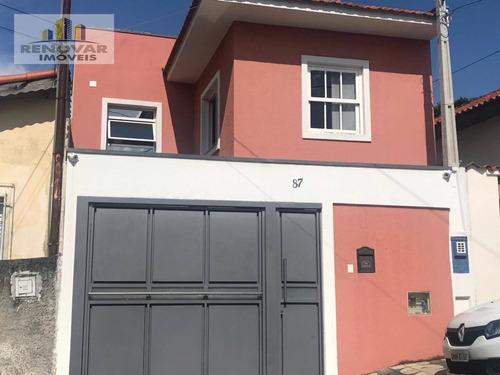 Casa Com 2 Dormitórios À Venda, 130 M² Por R$ 500.000,00 - Centro - Mogi Das Cruzes/sp - Ca0410