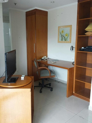 Flat Residencial Para Locação, Vila Olímpia - Fl0484