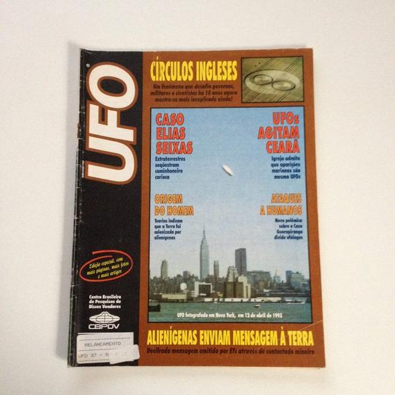 Revista Ufo Círculos Ingleses Ufos Agitam Ceará N°37 F410