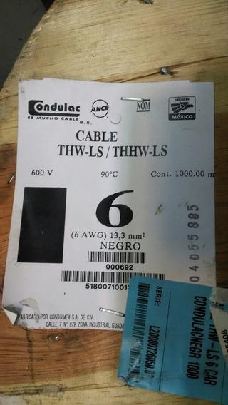 Cable #6 De Cobre Kobrex No Condulac Condumex
