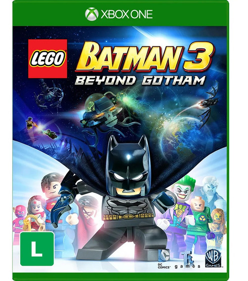 Lego Batman 3 Beyond Gotham Xbox One Mídia Digital + 1 Jogo