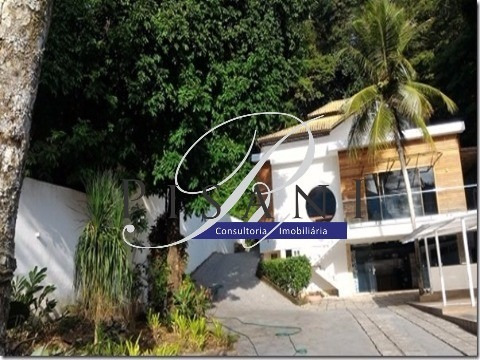 Itanhangá, Belissima Casa Com 4 Quartos (suites), 650m² De Area Construida - Ca00470