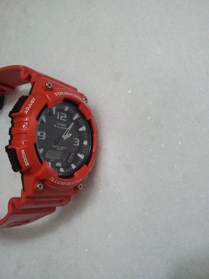 Relógio Casio Aq-s810w Solar Novíssimo