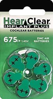 60 Baterías De Implante Coclear Hearclear Tamaño: Implante