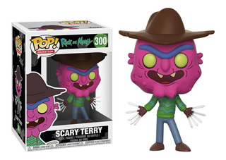 Funko Pop #300 Scary Terry - Rick And Morty - 100% Original