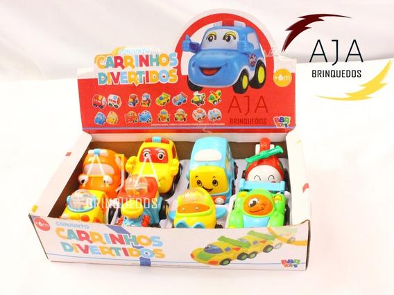 Brinquedo Menino Carro Divertido Infantil Colorido Bebê P/e