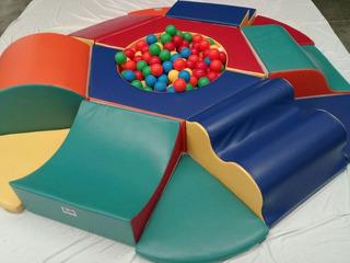Alberca De Pelotas Kids Colors. La Segunda Bazar