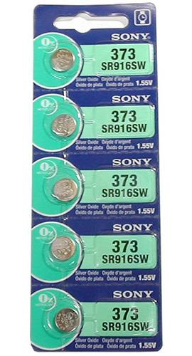 Imagen 1 de 5 de Pila Sony 373/916sw Blister 5u Original Distribuidor Oficial