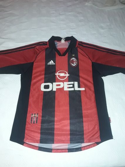 Camiseta Milan De Italia adidas Original De Coleccion 98/99
