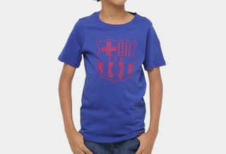 Camisa Barcelona Nike Infantil Juvenil Original 12 14 Anos