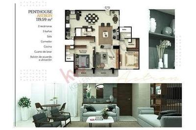 Penthouse En Venta Modelo Astron Ubicado En *magnitud Otay Residencial*