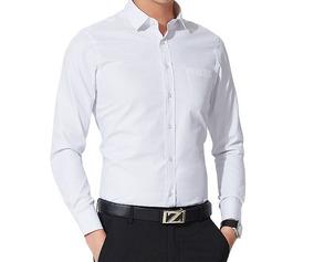 Kit Masculino Sapato Moderno + Camisa Slim Social Executivo