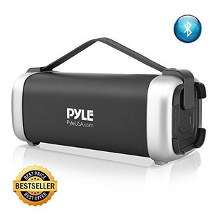 Pyle Wireless Portable Bluetooth Speaker - 200 Watt Power Ru
