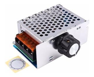 Dimmer Regulador Voltaje Control Velocidad 220v 4000w Caja