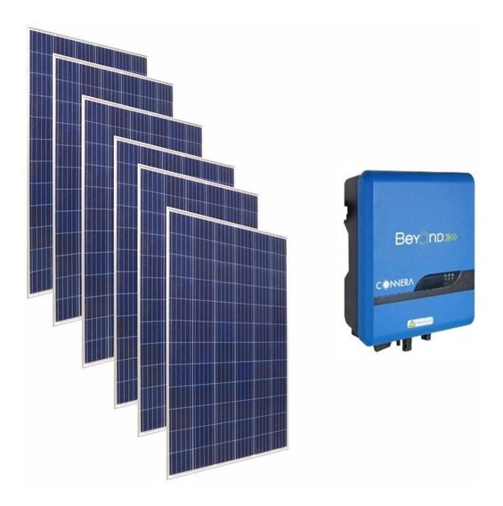 Kit Paneles Solares Interconexion A Cfe 3 Kw (completo)