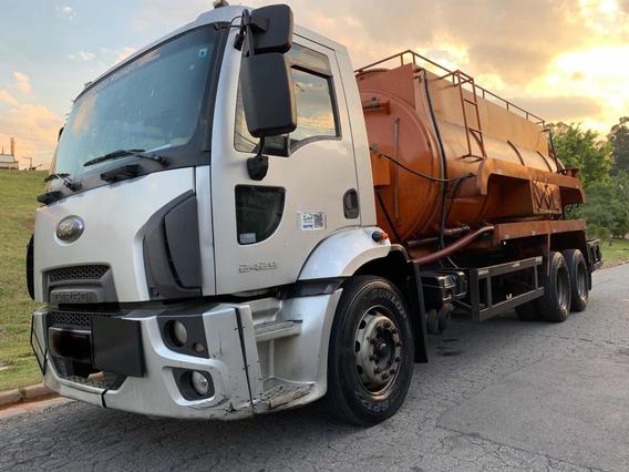 Ford Cargo 2429 Com Equipamento Combinado Limpa Fossa/hidro