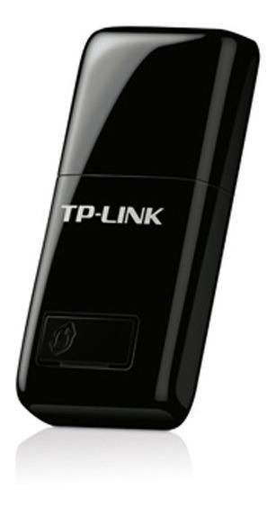 Adaptador Usb Wifi Tp-link Wn823n 300mbps Mini Negro