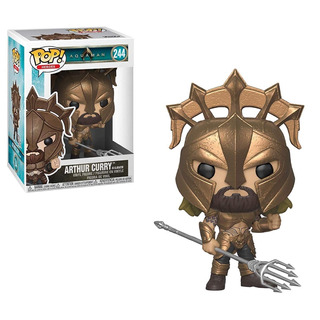 Funko Pop Heroes Dc Aquaman #244 - Arthur Curry Gladiator