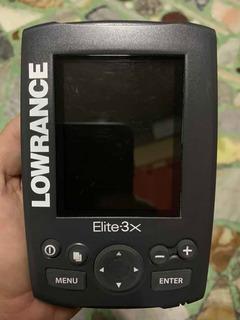 Ecosonda Lowrance Elite 3x Color