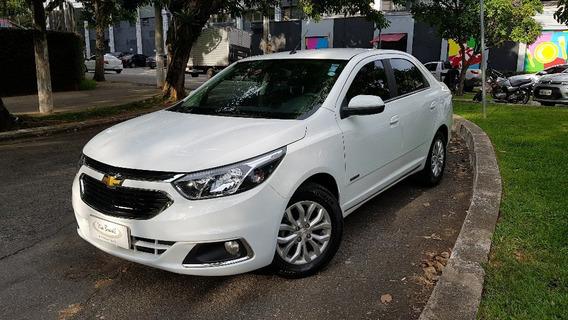 Chevrolet Cobalt Elite 17/18 Automático, Top Com Couro. Novo