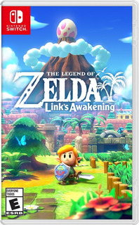 The Legend Of Zelda Link Awakening Nintendo Switch Sellado