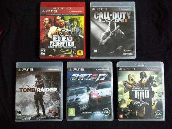 Lote De Jogos Ps3 Playstation 3 Mídia Física , Red Dead Cod