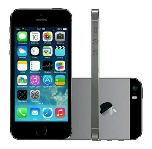 Smartphone Apple iPhone 5s 16gb 4g Vitrine Excelente
