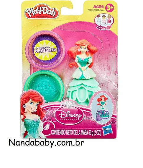 Boneca Play-doh - Princesas Disney Ariel - Haga