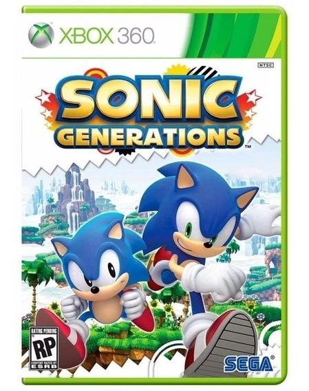 Sonic Generations Xbox 360 Mídia Física Lacrado Nfe