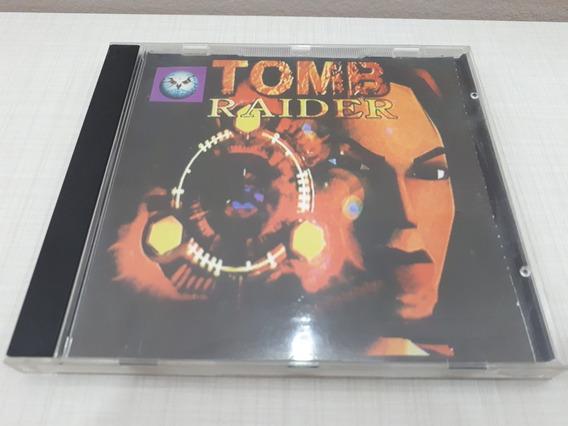 Tomb Raider Playstation One Ps1 Patch Prateado Prensado B