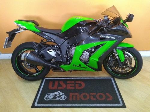 Imagem 1 de 12 de Kawasaki Zx 10 R 2012 Verde