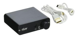 Sabaj Audio D2 Audio Dac Con Amplificador De Auriculares Color Negro