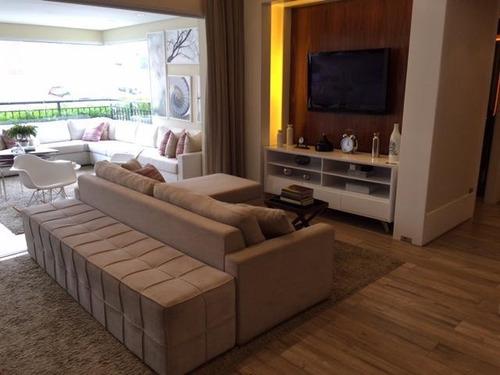 Imagem 1 de 30 de Apartamento À Venda, 123 M² Por R$ 1.200.000,00 - Tatuapé - São Paulo/sp - Ap5631