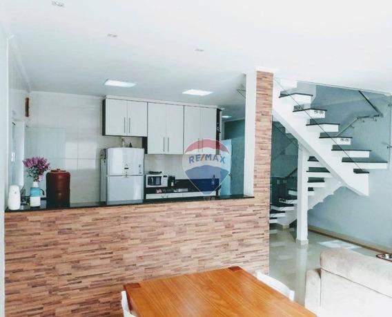 Sobrado Com 3 Dormitórios À Venda, 179 M² Por R$ 490.000 - Real Park Tietê - Mogi Das Cruzes/sp - Ca0169
